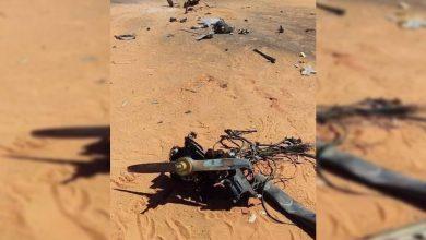 Photo of Libya'da tartışılan İHA enkazı